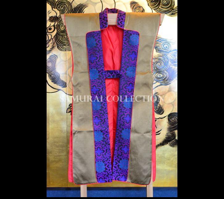 梵字刺繍 ロングタイプ陣羽織 バン 0055
