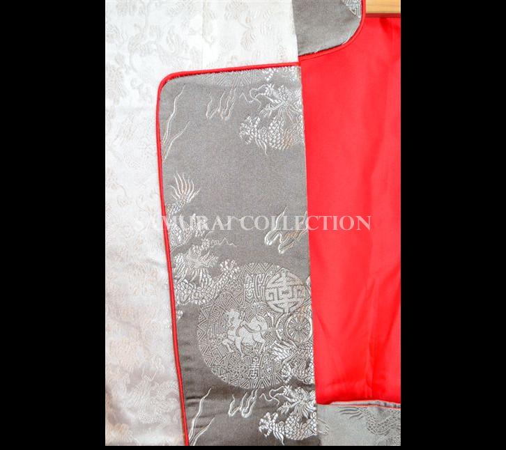 梵字刺繍 ロングタイプ陣羽織 タラーク 0056