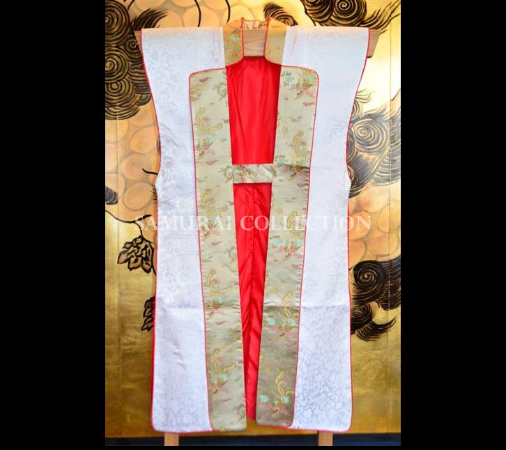 梵字刺繍 ロングタイプ陣羽織 アン 0057