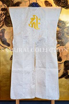 甲冑 鎧 兜 梵字刺繍 ロングタイプ陣羽織 キリーク 0058