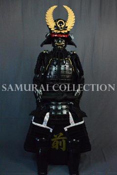 甲冑 サムライコレクション 徳川家康 大黒頭巾兜黒糸威胴具足